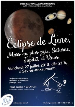 Éclipse de Lune 2018